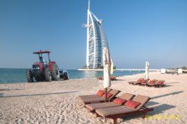 Serie S 235 presso Burj_beach. in Dubai